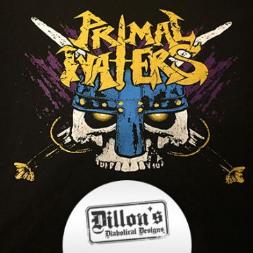 Primal Waters T-Shirt Design