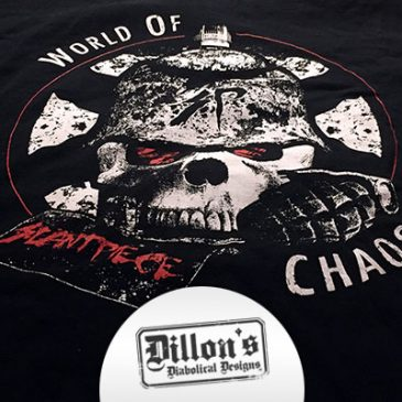 "Slantpiece's ""World of Chaos"" T-Shirt"